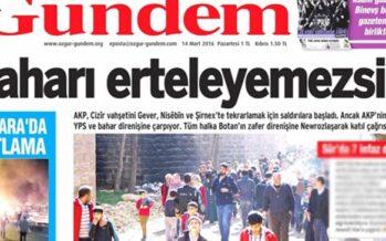 Ozgur Gundem closed, journalists detained
