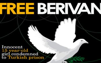 Young prisoner Berivan awarded in Sweden