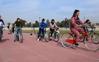"""""""I want a bicycle"""" campaign growing in Qamishlo"""