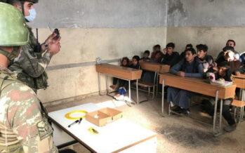 Turkish army trains children for war in Serêkaniyê and Girê Spî