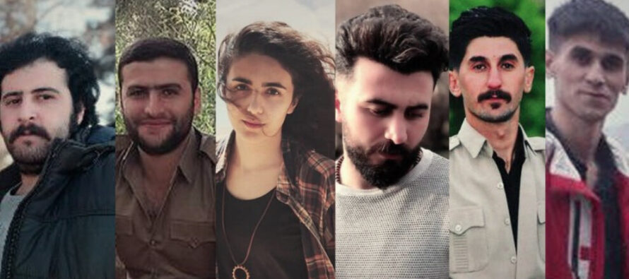 KNK calls for urgent action for Kurdish activists detained in Iran