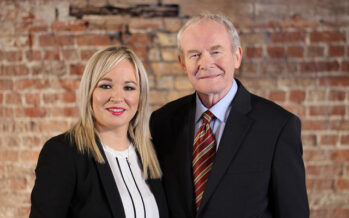 A woman candidate for Sinn Fein in Assembly elections