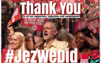 Corbyn Victory a Great Boost for Labour