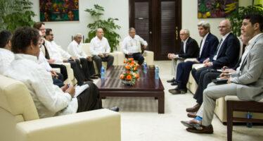 El saludo de las FARC-EP al Secretario John Kerry