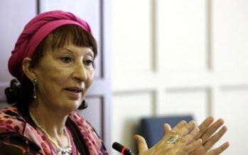 Moroccan Writer and Scholar Fatema Mernissi,75