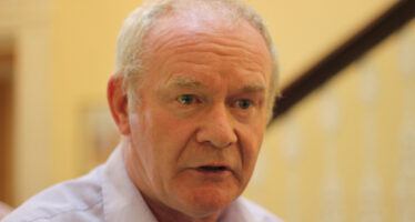 NORTH OF IRELAND ASSEMBLY COLLAPSES, AS MC GUINNESS RESIGNS