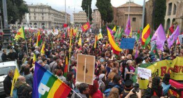 10 thousand people in Rome for Rojava