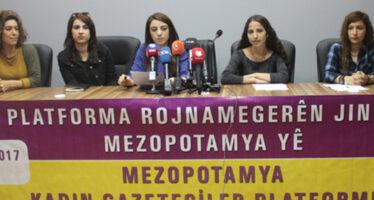 SETA report targets journalists, said Mesopotamia Women Journalists Platform