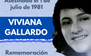Al conmemorarse los 40 años del asesinato de Viviana Gallardo en Costa Rica
