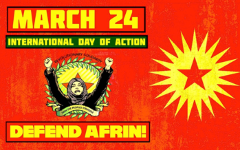 AFRIN IS NOT ALONE! WORLD DAY FOR AFRIN MARCH 24