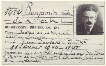 Walter Benjamin. A poem by Séamas Carraher