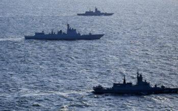 Rusia, China e Irán realizan ejercicios marítimos conjuntos en el Golfo de Omán