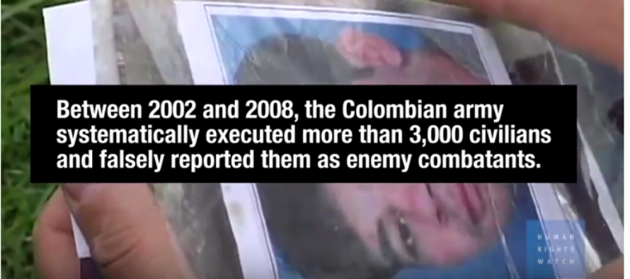 Colombia: New Army Commanders Linked to Killings