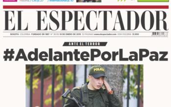 El Ejercito de Liberación Nacional reivindica el atentado en Bogotá