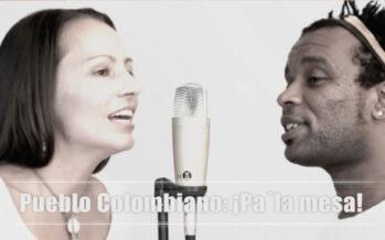 'Pueblo colombiano pa' la mesa', el rap de las FARC-EP junto al grupo cubano `Cuentas Claras´