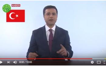 Turkish Presidential Candidate Demirtaş Speaks – From Prison