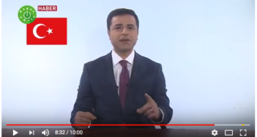 Turkish Presidential Candidate Demirtaş Speaks – From Prison