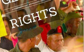 Global Rights Magazine. LOS RETOS DE LA PAZ EN COLOMBIA