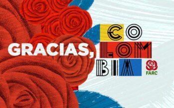 Las FARC agradece a sus electores