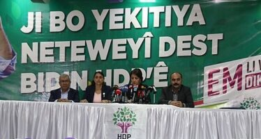 "Peoples' Democratic Party to the People ""HDP is the leading force of the struggle for peace and democracy"""