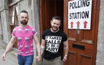 IRELAND. HISTORIC STEP FOR EQUALITY
