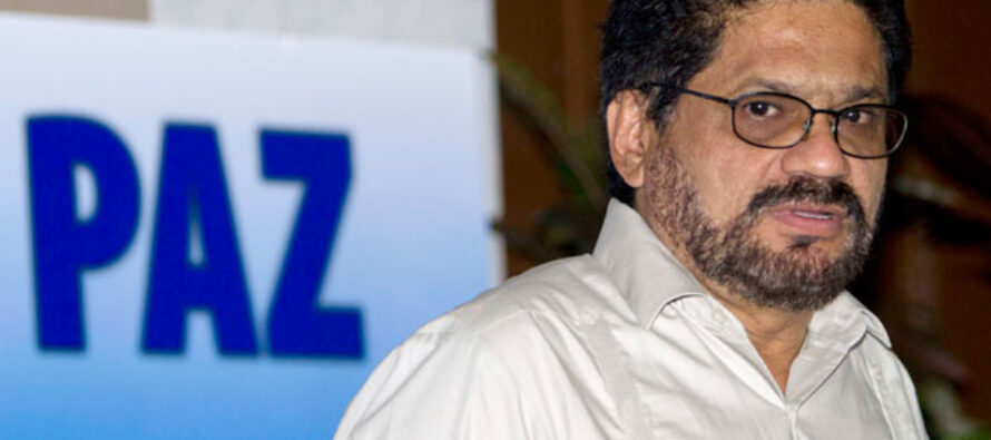 FARC Commander Ivan Marquez delivers speech to EU Parliament