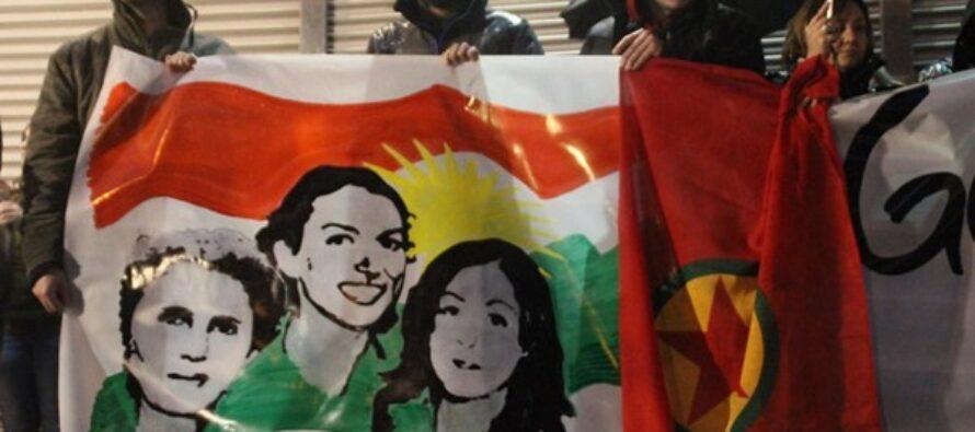 In memory of Sakine Cansiz, Fidan Dogan and Leyla Saylemez
