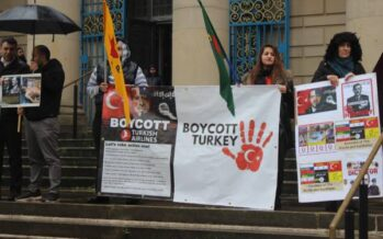 UK demos for Rojava