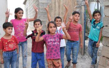 North Kurdistan. Refugees, visit to Maxmur Camp