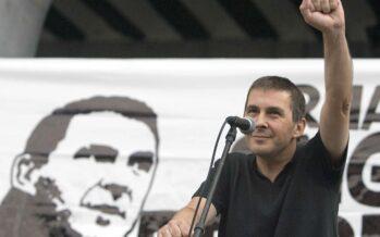 Basques celebrate as Arnaldo Otegi is freed