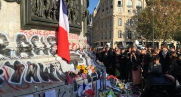 Paris, place de la République, le lendemain