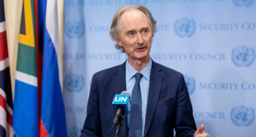 UN special envoy met foreign ministers of Turkey, Iran and Russia