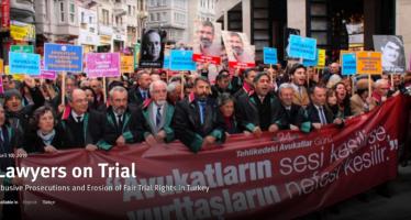 Turkey: Mass Prosecution of Lawyers
