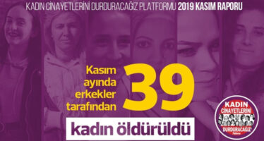 430 women murdered in Turkey in first 11 months of 2019